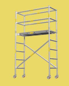 Aluminium Mobile Tower Scaffold Short Series SH-22