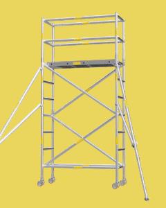 Aluminium Mobile Tower Scaffold Short Series SH-30