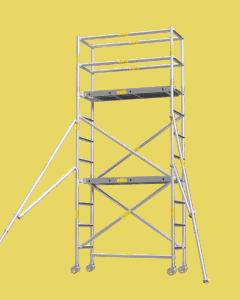 Aluminium Mobile Tower Scaffold Short Series SH-34
