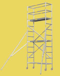 Aluminium Mobile Tower Scaffold Short Series SH-38