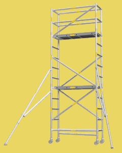 Aluminium Mobile Tower Scaffold Short Series SH-42 Plus