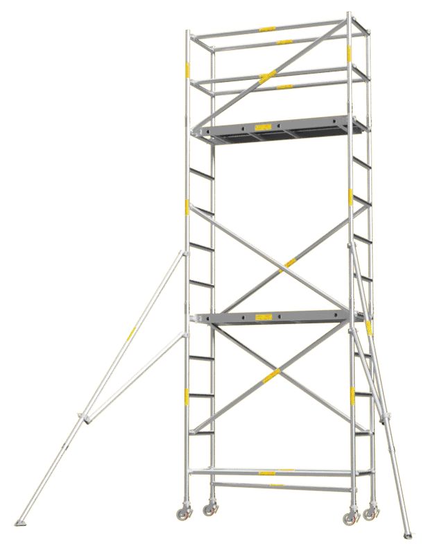 Aluminium Mobile Tower Scaffold Short Series SH-42 Plus