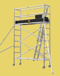 Aluminium Mobile Tower Scaffold Narrow Series NA-30