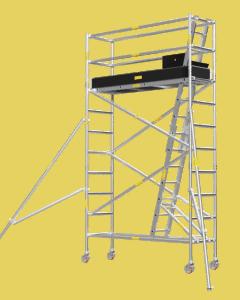 Aluminium Mobile Tower Scaffold Narrow Series NA-34
