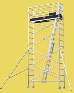 Aluminium Mobile Tower Scaffold Narrow Series NA-50