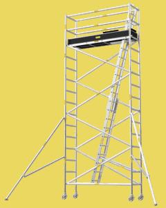 Aluminium Mobile Tower Scaffold Narrow Series NA-54