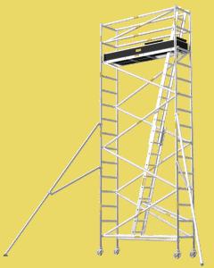 Aluminium Mobile Tower Scaffold Narrow Series NA-54 Plus