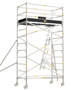 Aluminium Mobile Tower Scaffold Wide Series WI-38