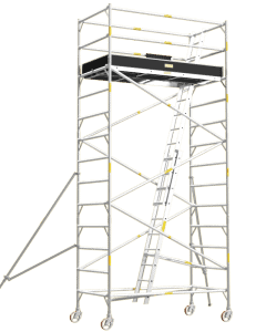 Aluminium Mobile Tower Scaffold Wide Series WI-46